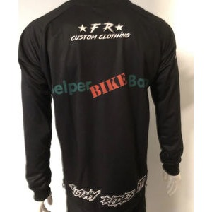 Filthy Rides Custom Clothing BBB MTB Long Sleeved Jersey (Black) click to zoom image