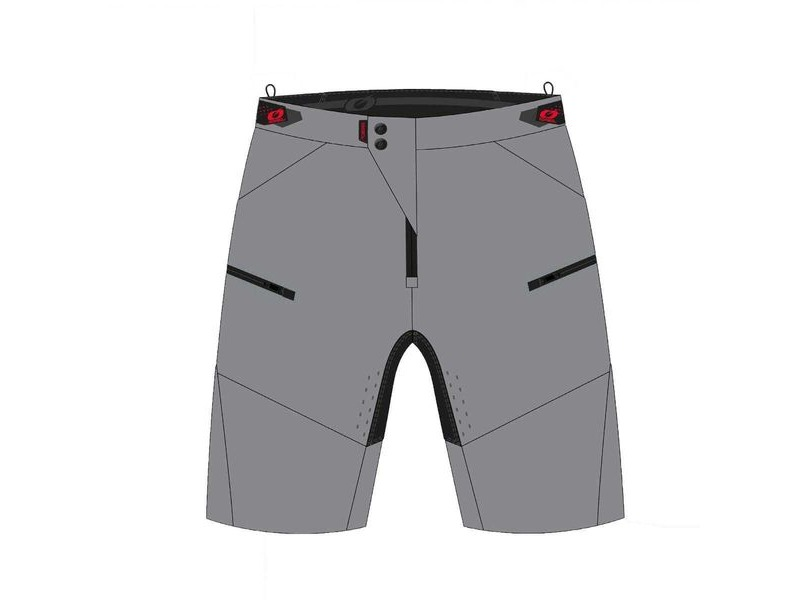 ONeal O'Neal Pin It Shorts Grey click to zoom image