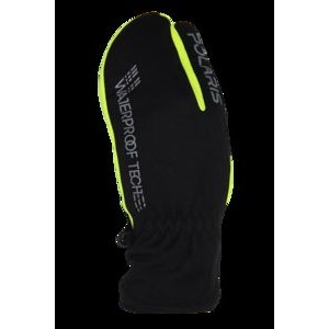 Polaris Bikewear Trigger Waterproof Glove Small Black/Yellow  click to zoom image