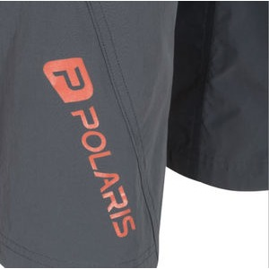 Polaris Bikewear Discovery Zoned MTB Shorts X Large Graphite/Orange  click to zoom image